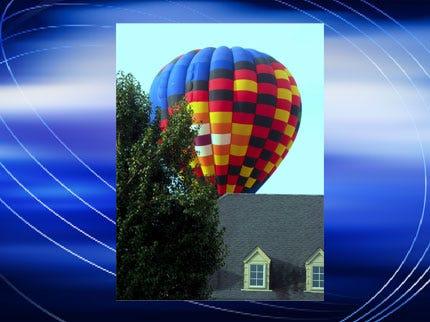 Hot Air Balloon Nearly Hits Owasso Home