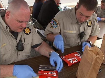 Thousands Of Prescription Pills Off Oklahoma Streets