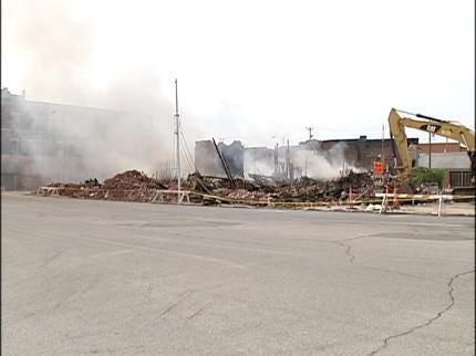 17 Displaced After Vinita Building Fire
