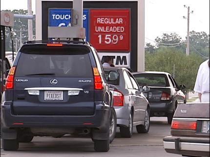 Gasoline For $1.59 A Gallon In Tulsa
