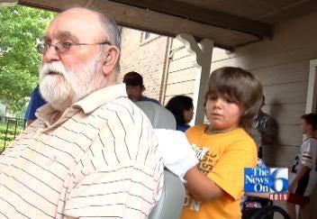 Tulsa Church Kids Wash Wheelchairs
