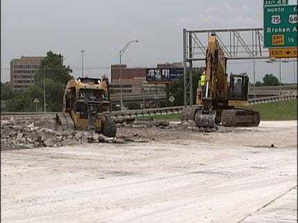Does Tulsa IDL Project Include A Detour Sign To Nowhere?