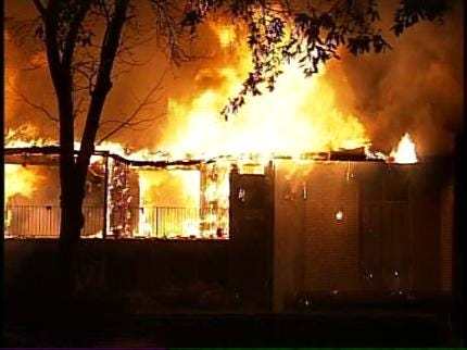 Man In Custody For Deadly Tulsa Meth Lab Fire