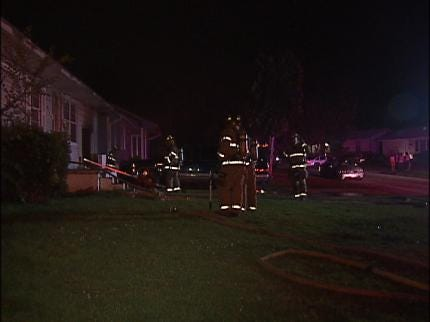 Two Fires Overnight Extinguished By Tulsa Firefighters