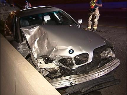 Driver Abandons Vehicle After Tulsa Car Accident