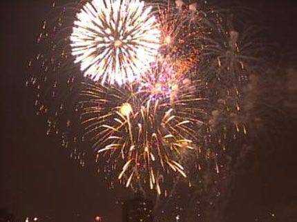 OHP: Don't Watch Fireworks On Shoulder Of Road