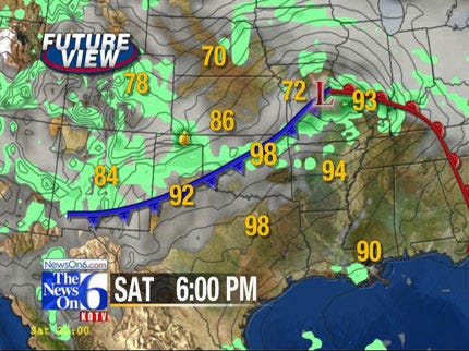 Sunny Conditions Likely Friday, Chance Of Rain Saturday