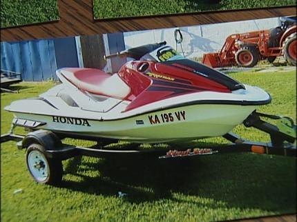 Tulsan Wants Jet Ski Thief Caught