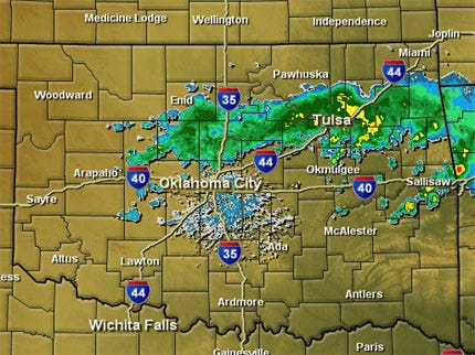 Cool Front Brings Storms To Area