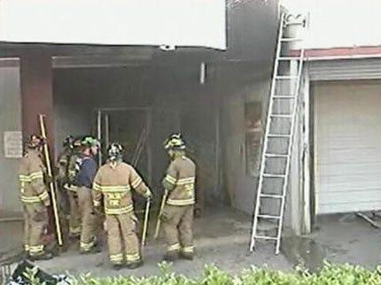 Arson At South Tulsa Car Wash