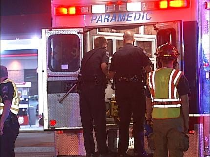 Motorcyclist Hit By Truck In Tulsa