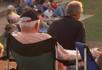 Superheroes Concert Draws Fans to River Parks Amphitheater