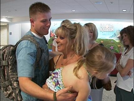 Bixby Soldier Home From Iraq