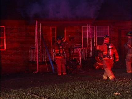 Firefighters Respond To Tulsa House Fire