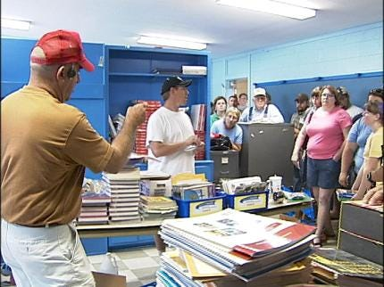 School Memorabilia Auctioned Off In Picher
