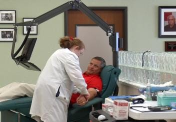 Jenks And Union Team Up for Blood Drive