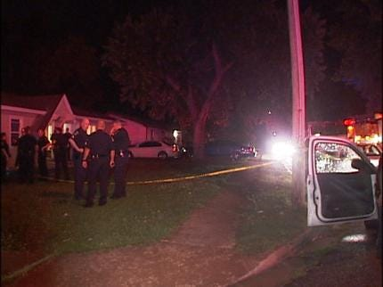 Suspects Still Sought In Tulsa Double Shooting