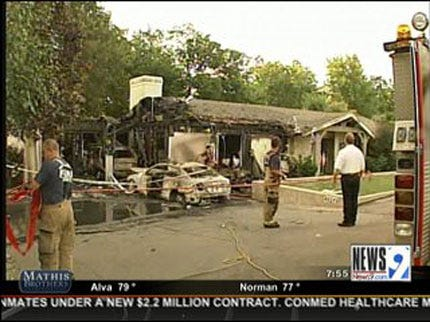 One Dead in Oklahoma City House Fire