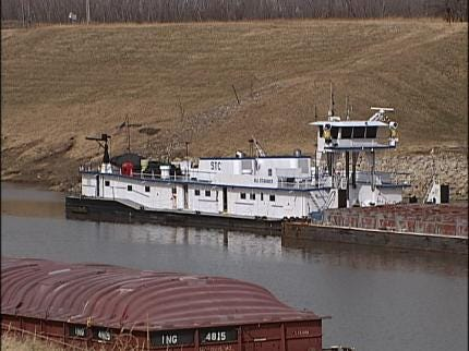 Shipping Slips At Port Of Catoosa