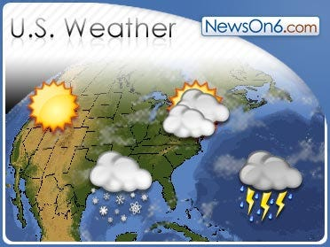 The Nations Weather For Friday