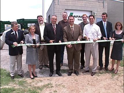 Tulsa Companies Open Methane Gas Pipeline
