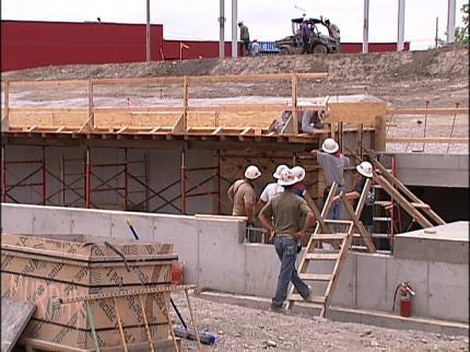 New Tulsa Ballpark Construction Coming Along