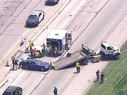 Toddler Dies After Turnpike Crash