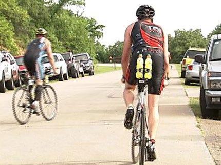 Oklahomans Test Endurance In Tulsa Triathlon