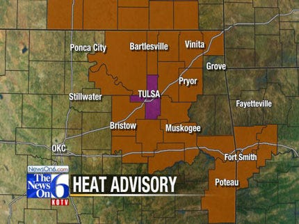 High Temps Prompt Activation Of Tulsa Heat Emergency Plan