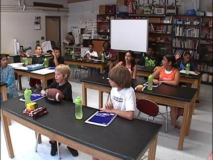 Students Learn At Summer Leadership Academy