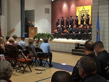 TPD Holds Academy Graduation