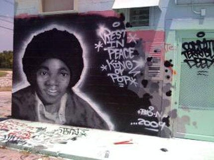 Tulsa Mural Honors Michael Jackson