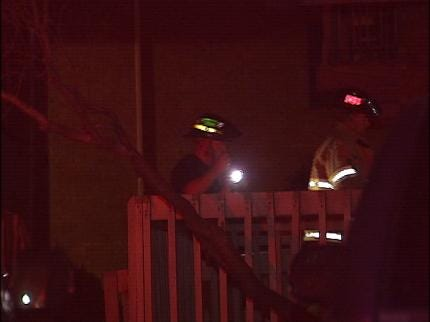 One Treated For Smoke Inhalation In Tulsa Apartment Fire