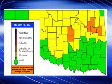 Tulsa Under Ozone Alert Through Tuesday