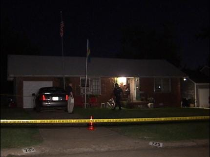 Tulsan Shot During Home Invasion-Robbery