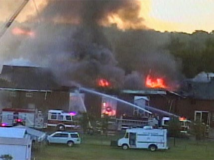 Moore Church Damaged By Suspicious Fire