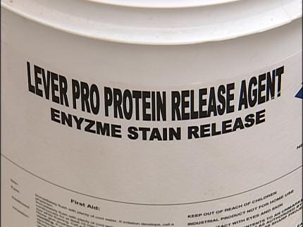 Protein Cleaner Cuts Through Summer Stains