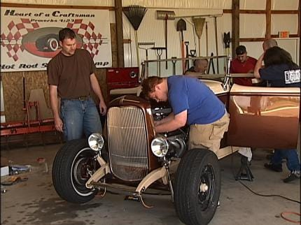 Teens Learn About Faith And Hot Rods At Camp