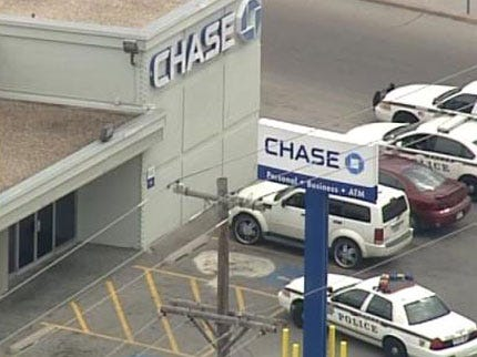 Police: Alleged Bank Robbery Was Fake