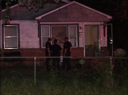 Tulsa Man Shot At His Home