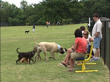 Tulsa's 2nd Bark Park Opens