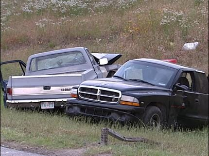 Two Injured In Tulsa Traffic Accident