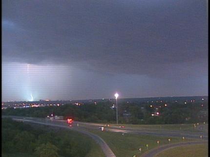 Lightning And Heavy Rain Pound Tulsa