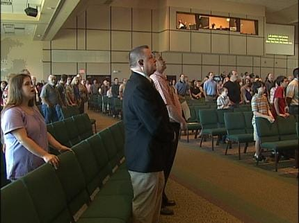 Some Oklahoma Churches Hire Armed Guards