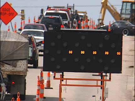 Tulsa Road Widening Project Underway