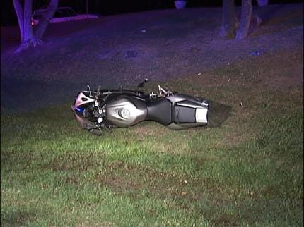 High Speed Motorcycle Chase In Tulsa