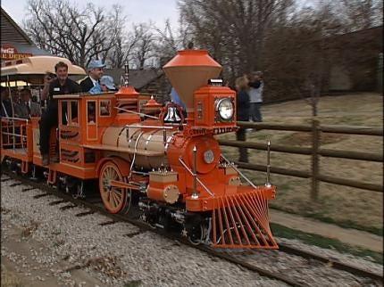 New Train For Tulsa Zoo