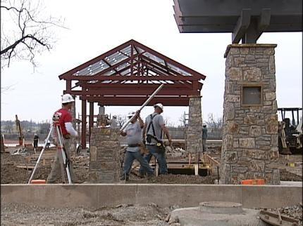 Progress Made Along Tulsa's RiverParks