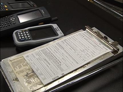 Sand Springs Police To Switch To Electronic Tickets