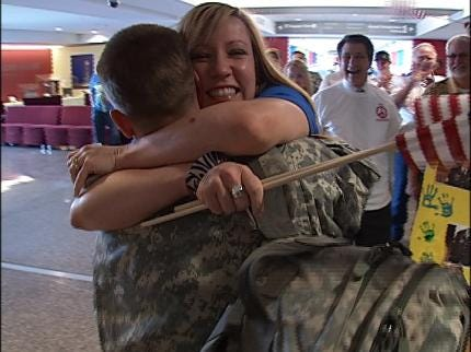 Tulsa Soldier Home From Final Deployment